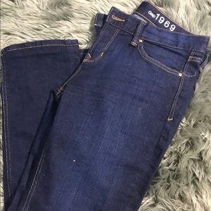 Gap Women's 1969 Real Straight Jeans sz 29s short